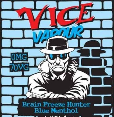 Vice Vapour Brain Freeze - Blue Menthol