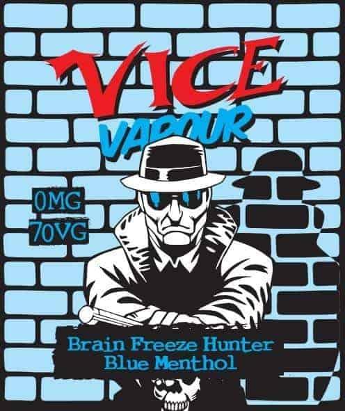 Vice Vapour Brain Freeze - Blue Menthol