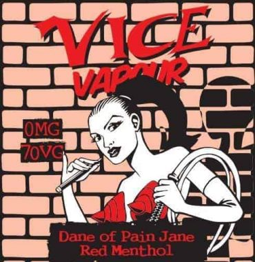 Vice Vapour Dane of Pain Jane - Red Menthol