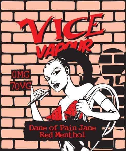Vice Vapour Dane of Pain Jane - Red Menthol
