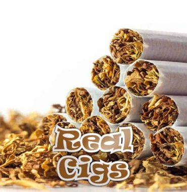 Real Cigs - 10ML Qcigs E-Liquid (PG)