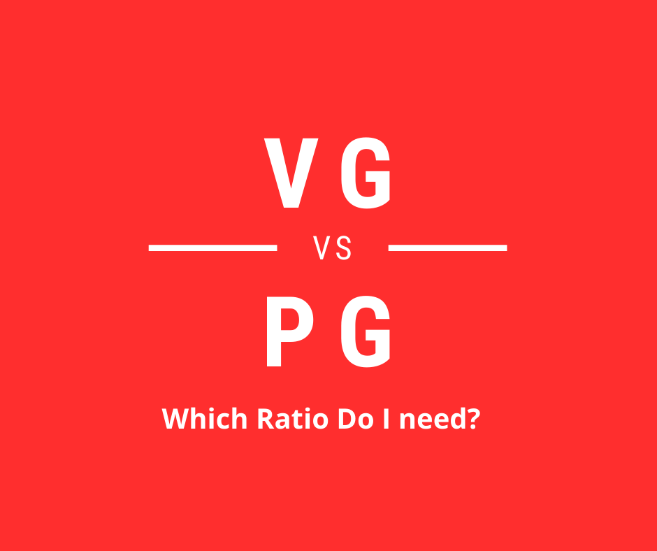 VG vs PG - which ratio do I need?