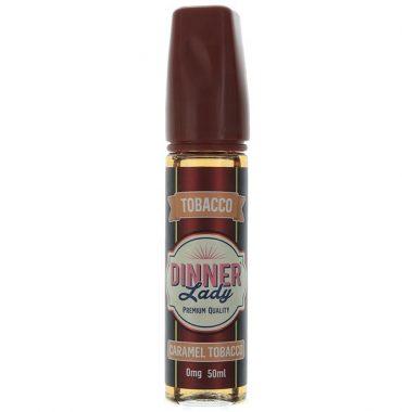 Caramel Tobacco 50ml Shortfill - Dinner Lady